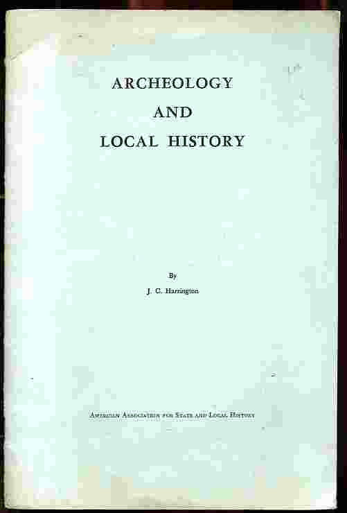 Image for ARCHEOLOGY AND LOCAL HISTORY (ARCHAEOLOGY)