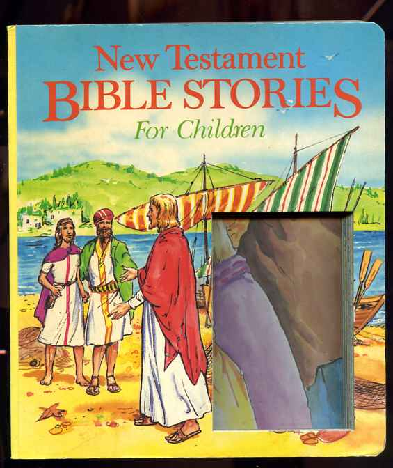 Image for NEW TESTAMENT BIBLE STORIES FOR CHILDREN