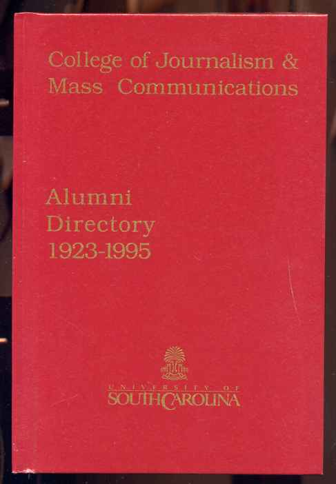 Image for ALUMNI DIRECTORY 1923-1995 college of journalism and mass communications