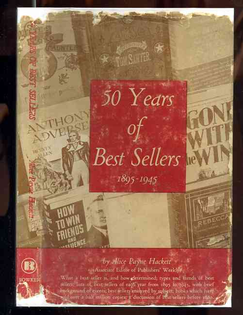 Image for 50 YEARS OF BEST SELLERS, 1895-1945