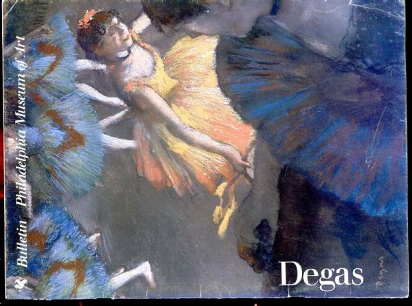 Image for PHILADELPHIA MUSEUM OF ART BULLETIN: SPRING 1985 Degas (Vol 81 No 346)