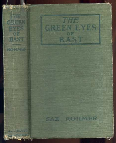 Image for THE GREEN EYES OF BAST
