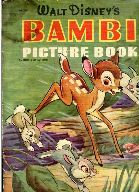 Image for WALT DISNEY'S BAMBI PICTURE BOOK