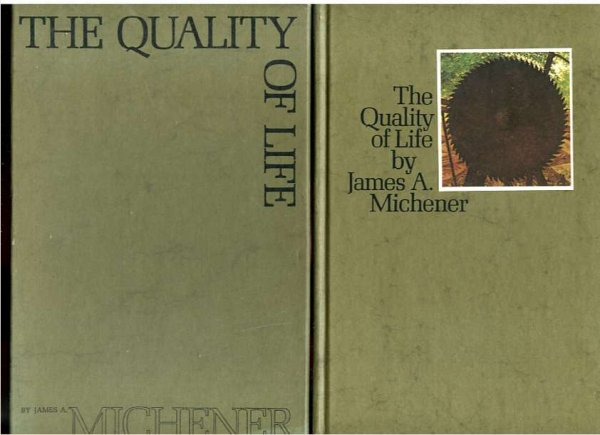 Image for THE QUALITY OF LIFE, PRESENTATION COPY TO SHAREHOLDERS OF GIRARD CO.