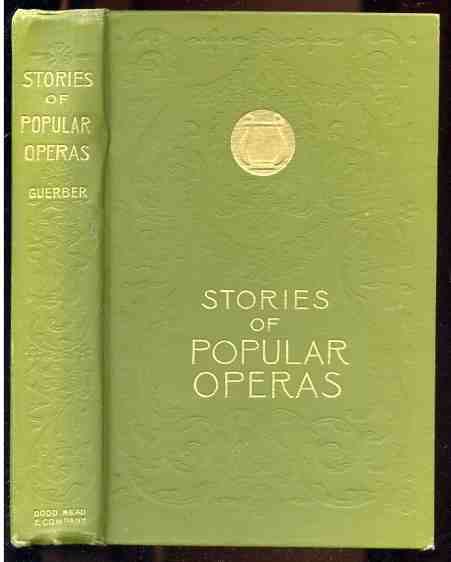 Image for STORIES OF POPULAR OPERAS