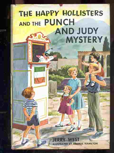 Image for THE HAPPY HOLLISTERS AND THE PUNCH AND JUDY MYSTERY.