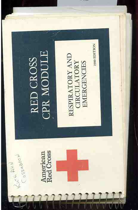 Image for RED CROSS CPR MODULE 1980 Edition