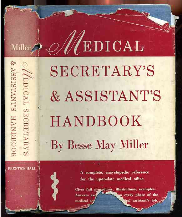 Image for MEDICAL SECRETARY'S & ASSISTANT'S HANDBOOK