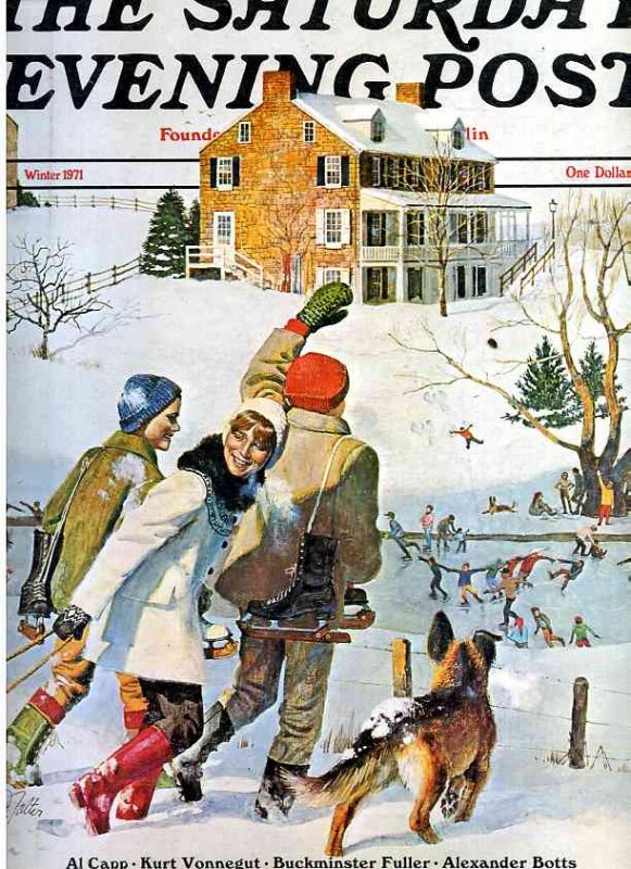 Image for THE SATURDAY EVENING POST : WINTER 1971 VOL. 243 NO. 3 [LBC]