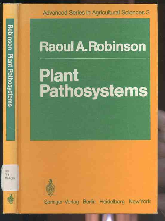 Image for PLANT PATHOSYSTEMS