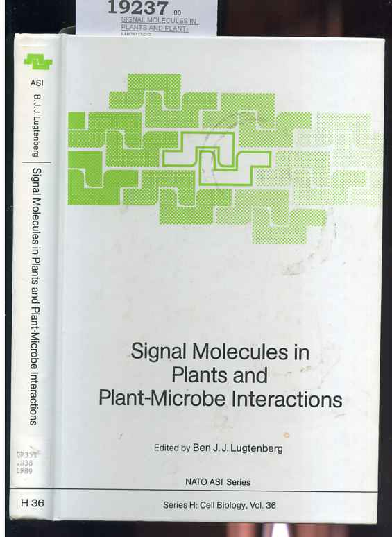 Image for Signal Molecules in Plants and Plant-Microbe Interactions