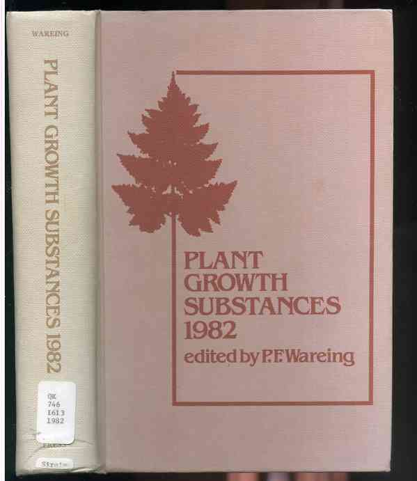Image for PLANT GROWTH SUBSTANCES, 1982