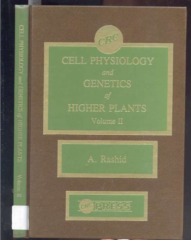 Image for Cell Physiology and Genetics of Higher Plants