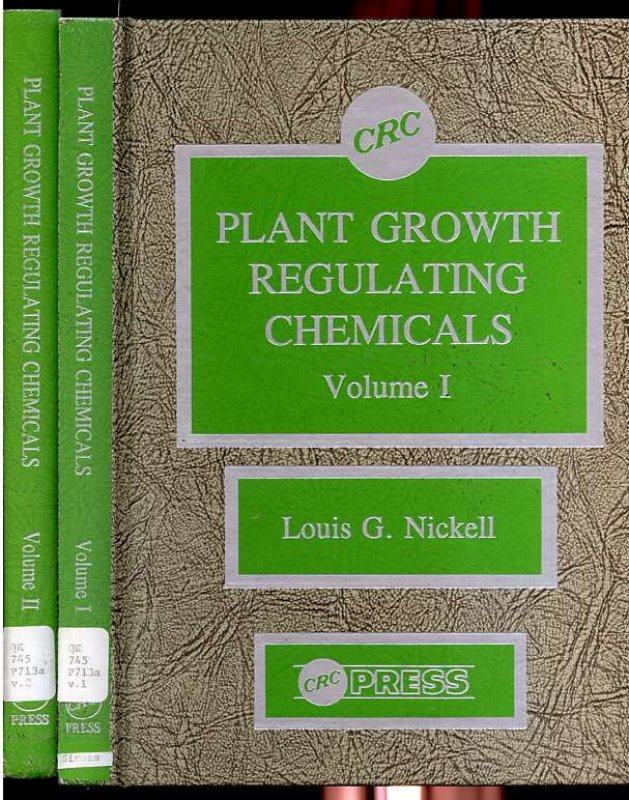 Image for Plant Growth Regulating Chemicals