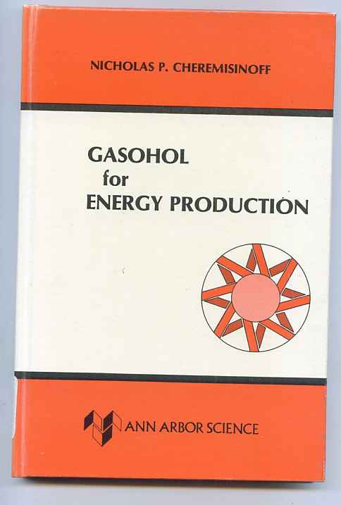 Image for GASOHOL FOR ENERGY PRODUCTION