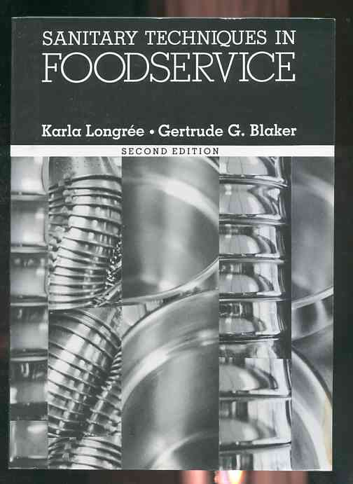 Image for SANITARY TECHNIQUES IN FOODSERVICE