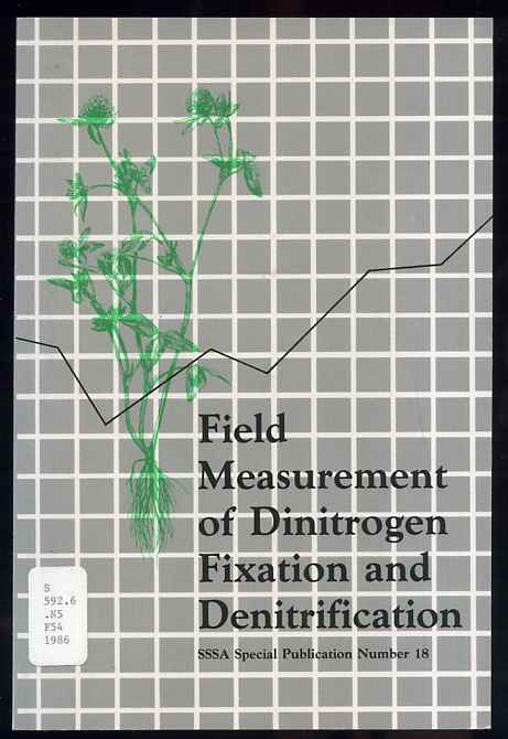 Image for FIELD MEASUREMENT OF DINITROGEN FIXATION AND DENITRIFICATION