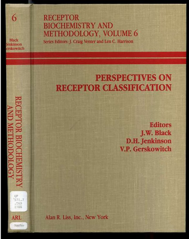 Image for Perspectives on Receptor Classification
