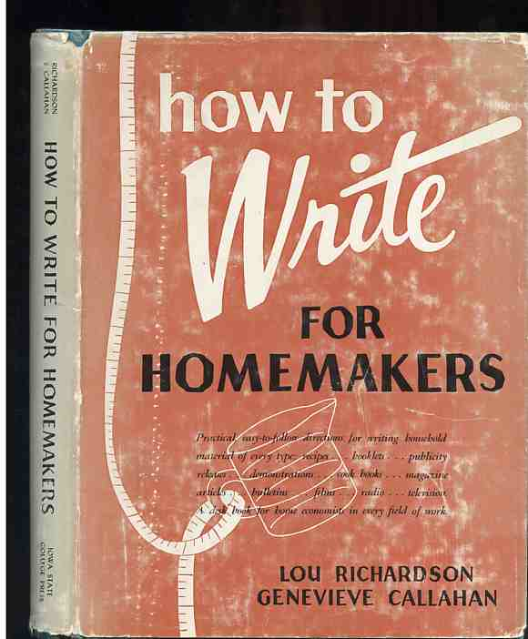 Image for HOW TO WRITE FOR HOMEMAKERS