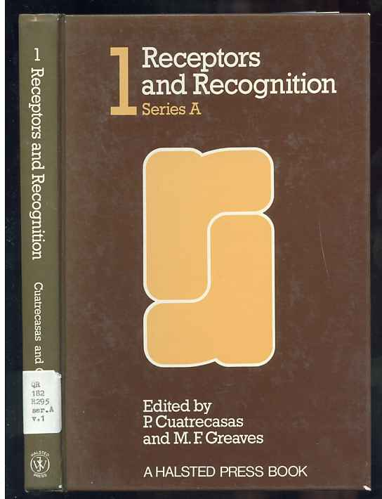 Image for RECEPTORS AND RECOGNITION SERIES A