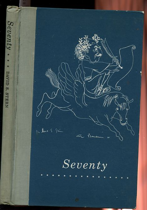 Image for SEVENTY, VERSES 1924-1959 Ltd. Signed Edition 91/200