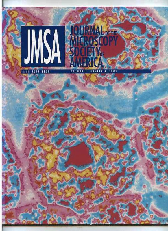 Image for JMSA: JOURNAL OF THE MICROSCOPY SOCIETY OF AMERICA:  Volume 1 Number 3 1995