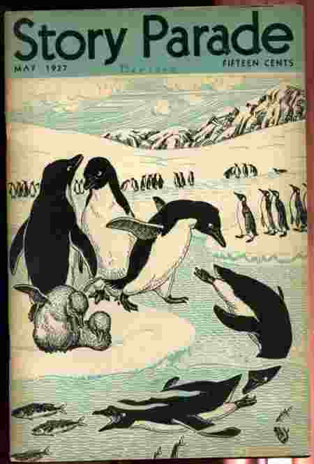 "Image for STORY PARADE MAY 1937 VOLUME II NUMBER FIVE Includes "" What is a Penguin"""