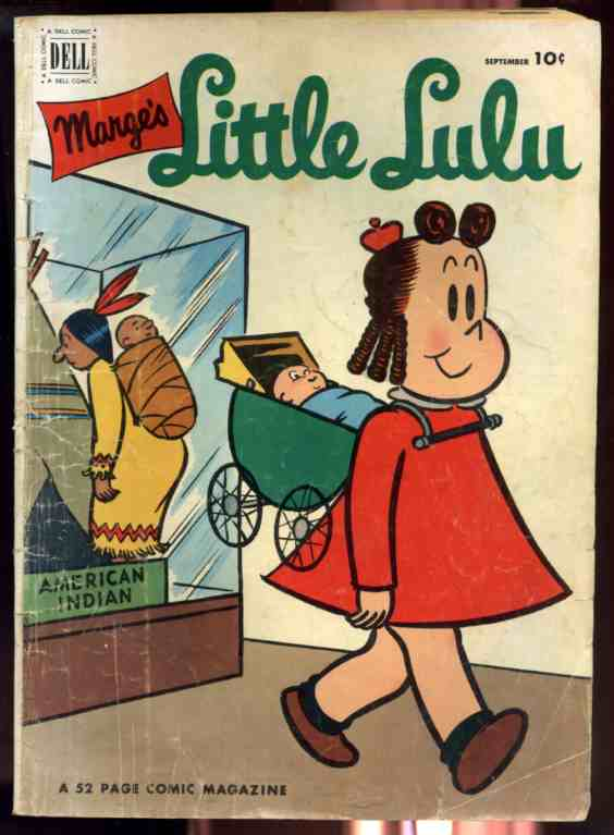 Image for MARGE'S LITTLE LULU VOL. I NO. 51 SEPTEMBER 1952 COMIC  (Comics)