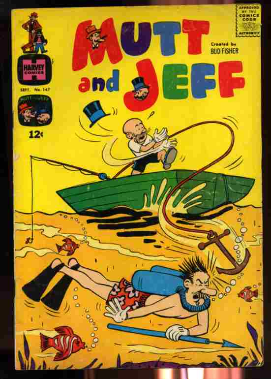 Image for MUTT & JEFF VOLUME 1 NUMBER 147 SEPTEMBER 1965 COMIC  (Comics)