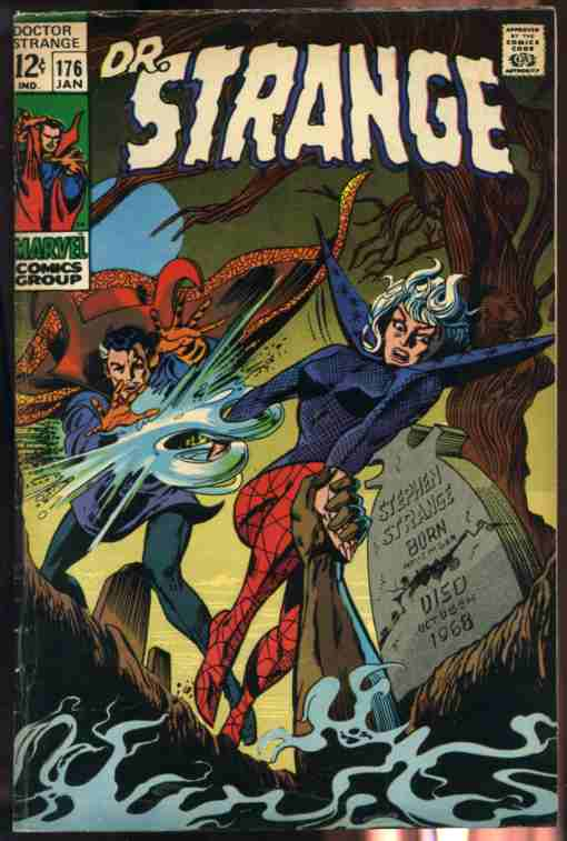 "Image for DOCTOR STRANGE JAN 1969 NO. 176 COMIC  (""O Grave Where is Thy Victory?"") 12c"