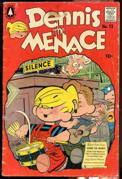 Image for DENNIS THE MENACE NO. 23 1957 COMIC 10c