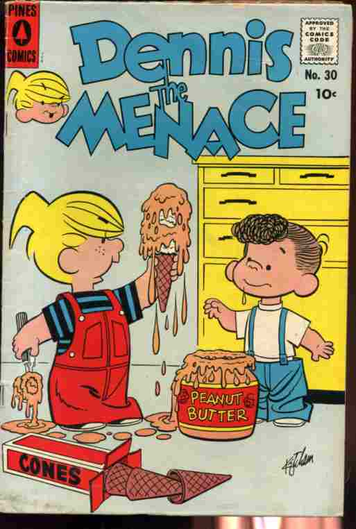 Image for DENNIS THE MENACE NO. 301958 COMIC 10c