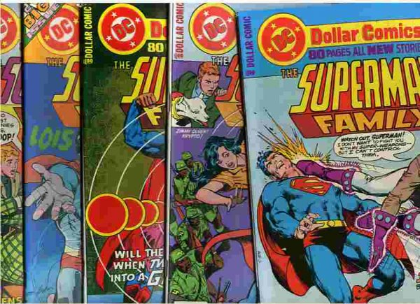 Image for SUPER MAN FAMILY NOS 176-88 Comic Book (13 Comics) Includes Numbers 176 through to 188
