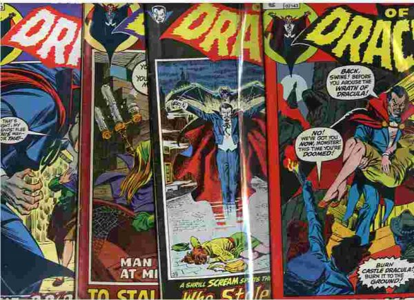 Image for TOMB OF DRACULA APRIL 1972 ON NOS 2, 3 , 4, 5 4 Comic Books
