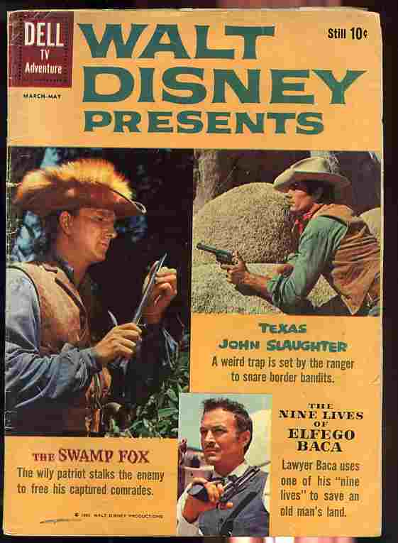 Image for WALT DISNEY PRESENTS NO. 3 MARCH-MAY 1960 Comic Book
