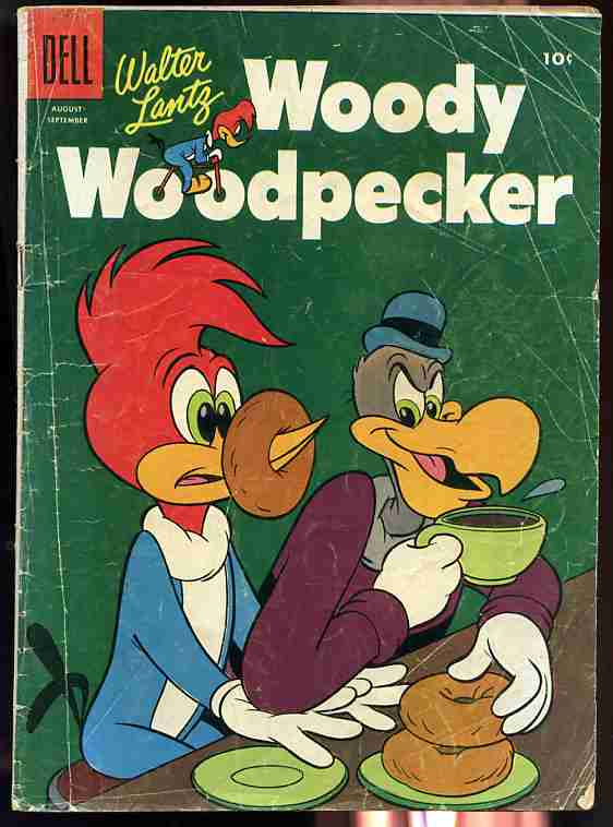 Image for WOODY WOODPECKER AUGUST SEPTEMBER 1955 NUMBER 32 Comics, Comic
