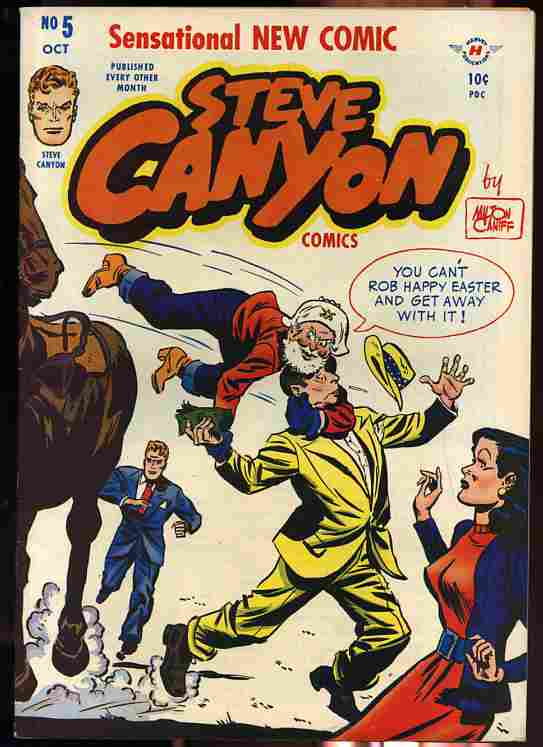 Image for STEVE CANYON NUMBER 5 OCTOBER 1948 Comics, Comic