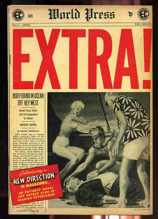 Image for Extra (world Press) Volume 1 Number One April 1955 Comics, Comic (Not Code Approved)
