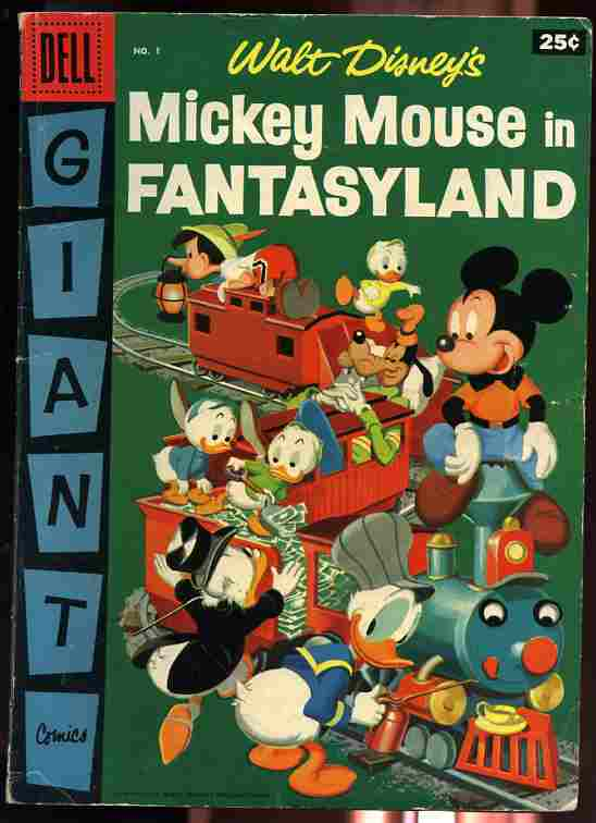 Image for MICKEY MOUSE IN FANTASYLAND NUMBER 1 1957 Comics, Comic