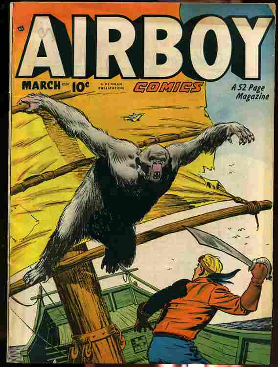 Image for AIR BOY, MARCH 1950 VOLUME 7 NUMBER TWO Comics, Comic