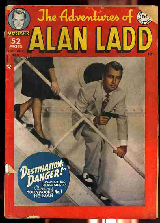 Image for ADVENTURES OF ALAN LADD JUNE-JULY NO. 5 1950 Comics, Comic