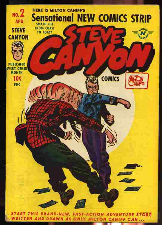 Image for STEVE CANYON COMICS, APRIL 1948 VOLUME 1 NUMBER TWO Comics, Comic