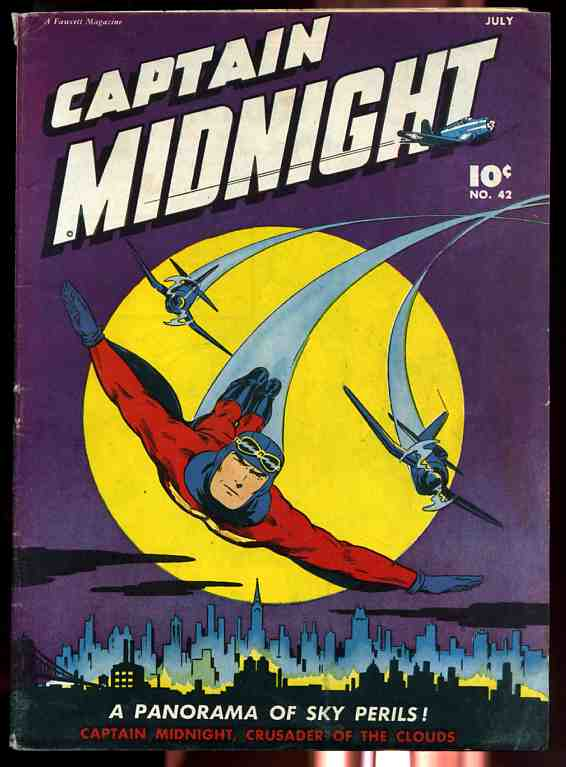 Image for CAPTAIN MIDNIGHT NUMBER 42 JULY 1946 VOLUME 7 Comics, Comic