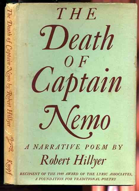 Image for THE DEATH OF CAPTAIN NEMO : A NARRATIVE POEM