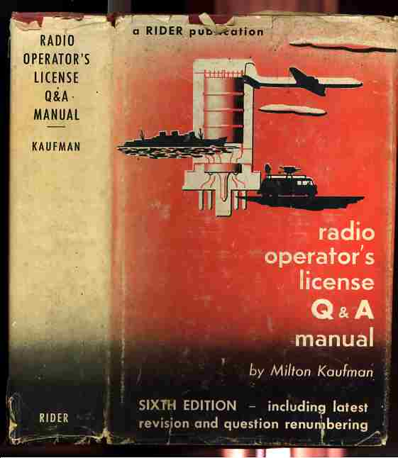 Image for RADIO OPERATOR'S LICENSE Q & A MANUAL  (Arc)