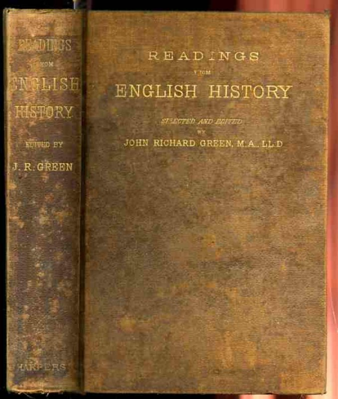 Image for READINGS FROM ENGLISH HISTORY