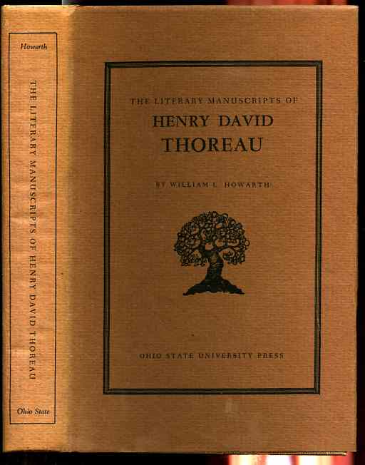 Image for THE LITERARY MANUSCRIPTS OF HENRY DAVID THOREAU