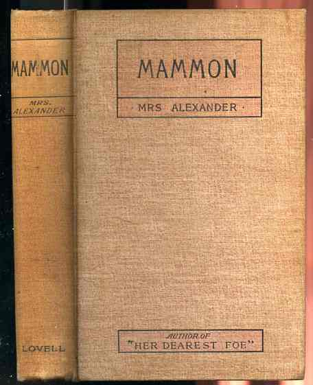 Image for MAMMON
