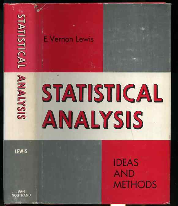 Image for STATISTICAL ANALYSIS: IDEAS AND METHODS