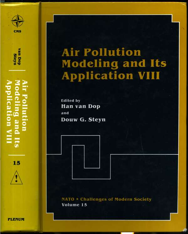 Image for Air Pollution Modeling and Its Application VIII